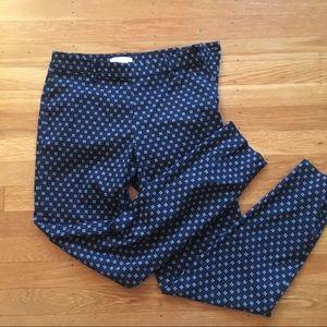 Small H&M navy print dress/work pants